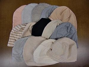 オーガニックコットン帽子 (2)